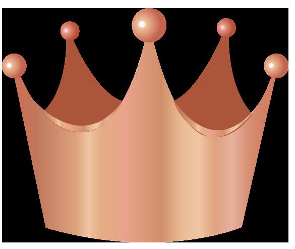 王冠ブロンズ